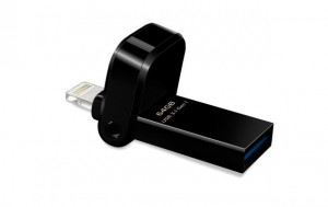 Adata i-Memory Flash Drive AI920, 64GB, Lightning / USB 3.1 Gen1, black