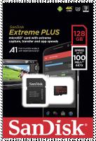 SanDisk microSDXC 100MB A1 128GB Extreme Plus SDSQXBG-128G-GN6MA
