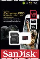 SanDisk microSDXC A1 100MB 128GB Extreme Pro