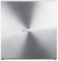 Asus External Slim DRW 08U5S, 24x, SATA, stříbrná barva