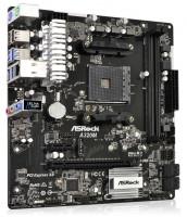 ASRock A320M / A320 / AM4 / 2x DDR4 / 1x M.2 / 4x SATA III / mATX