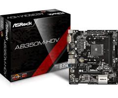 ASRock AB350M-HDV, AM4, 4xSATA3, DDR4, USB 3.0 Základní deska