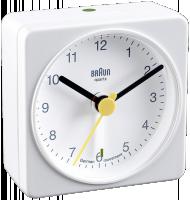 Braun BNC 002 ručičkové bílá barva