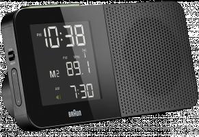 Braun BNC 010 Global Radio Controlled Alarm Radio černá