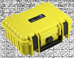 B&W Venkovní Case Type 500/Y žlutá s GoPro Session Inlay