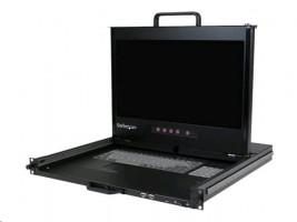 "StarTech Rackmount LCD console - 1U - 17"", FullHD, DVI-I, VGA"