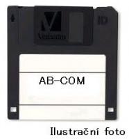 Kompatibilní Dymo disketové štítky 54mm x 70mm bílá barva 320ks 99015