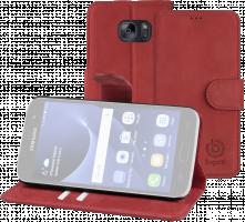 Bugatti Booklet Case Madrid červená barva pro Samsung Galaxy S7