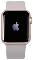 Apple Watch Series 1, rose gold/pink sand, 38 mm