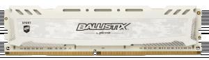 Ballistix Sport LT RAM DDR4 32 GB (4x8 GB) 2400 DIMM 288pin white SR