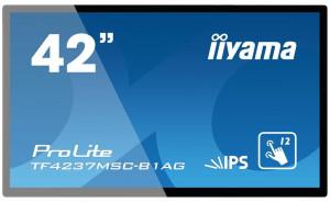 "Touchscreen monitor Iiyama TF4237MSC-B1AG 42"", 6ms, VGA, DVI-D, HDMI, black"