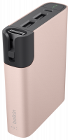 Belkin MIXIT RockStar Power Pack rose 6600mAh Light./Micro-Cables