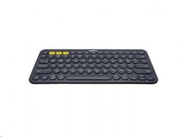 Logitech K380 Multi-Device  klávesnice (DE), černá