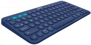 Bezdrátová klávesnice Logitech K380 Multi-Device modrá (920-007567)
