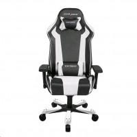 DXRacer OH/KS06/NW Herní židle, bílá/černá