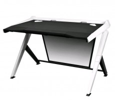 DXRacer GD/1000/NW Herní stůl, černá/bílá