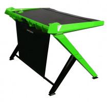 DXRacer GD/1000/NE Herní stůl, černá/zelená
