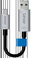 Lexar JumpDrive USB 3.0 64GB C20m Mobile