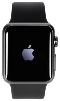 Apple Watch 2 38mm Grey Alu Case s Black Sport Band