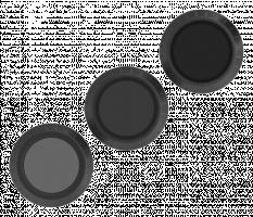 POLARPRO filtrů 3er Set pro DJI Mavic Pro