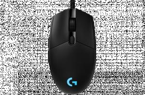 Logitech Pro herní myš, černá