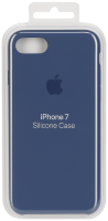 Apple iPhone 7 Silikonový kryt Ocean Blue