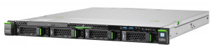 Fujitsu PRIMERGY RX1330M3, SFF, E3-1230v6 4C/8T 3.50 GHz/16GB DDR4/2xHD SAS 12G 600GB 10K/DRW/PRAID EP400i/Hot-plug SV