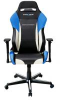 DXRacer Drifting, Herní židle, Černá/Bílá/Modrá