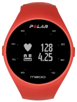Polar M200 Chytré hodinky, M/L, červená