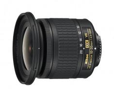 Nikon AF-P 4,5-5,6 / 10-20 DX G VR Širokoúhlý objektiv, černý