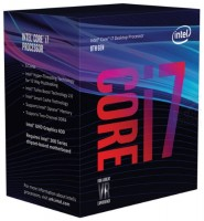 INTEL i7-8700K / Coffee Lake / LGA1151 / 3,7 GHz / 12MB / 95W TDP
