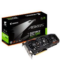 Gigabyte GeForce GTX 1060 6GB 8Gbps, 6GB, DVI/HDMI/DP