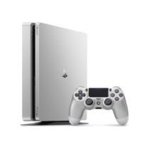 PS4 500GB D Chassis Silver + 2nd Controller Silver DS4