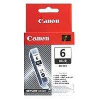 Canon inkoustová náplň BCI-6Bk/ Černá