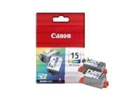 Canon inkoustová náplň BCI-15C/ 2ks v balení/ Barevná
