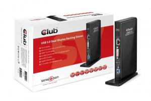 CLUB3D SenseVision Dokovací stanice