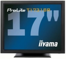"Iiyama LCD Prolite T1731SR-B1 17"" 5ms, DVI, repro,dotykový monitor, č"