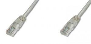 PremiumCord Patch kabel UTP RJ45-RJ45 level 5e 10m šedá