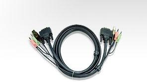 ATEN int.kabel pro KVM USB, DVI 5m pro CS1764