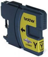 Brother inkoustová náplň LC-980/ Žlutá