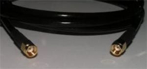Prodlužovací kabel 2 m RSMA male/RSMA male (dírka) H155