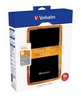 "Verbatim Store ""n"" Go externí HDD USB 3.0 Portable 2.5"" 500GB, černý"