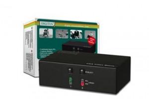 Digitus Video Matrix 250 MHz 2 Pcs, 2 Monitors