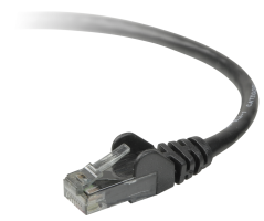 Belkin kabel PATCH STP CAT5e 15m černý