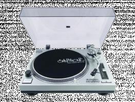 Omnitronic DD-2550 stříbrná barva
