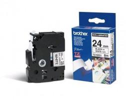 Brother páska TZ-N251 - 24mm x 8m - bílá / černý text - nelaminovaná - originální (TZE-N251)