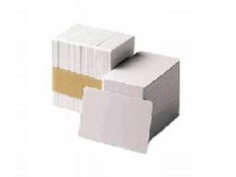 Zebra Premier PVC bílé karty, 30mil (100 karet)