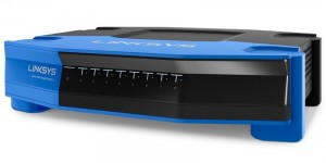 Linksys SE4008 8-Port Gigabit Ethernet Switch, QoS (WRT Family)