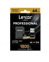 Lexar microSDXC 1800x 64GB UHS-II