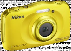 Nikon COOLPIX W100 Fotoaparát, žlutá